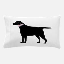Preppy Black Lab Pillow Case