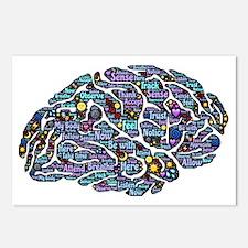 Brain change Postcards (Package of 8)