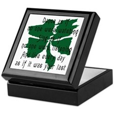 Irish Keepsake Box
