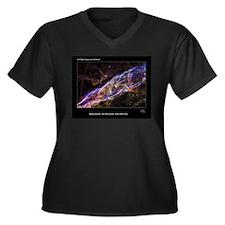 Veil Nebula S Plus Size T-Shirt