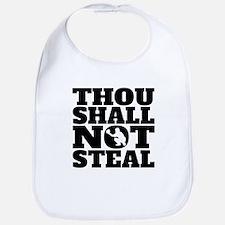 Thou Shall Not Steal Baseball Catcher Bib