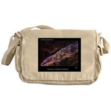 Veil Nebula Supernova Remnant Hubble Messenger Bag