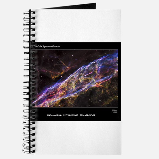 Veil Nebula Supernova Remnant Hubble Herit Journal