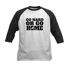 Go Hard Or Go Home Cycling Baseball Jersey