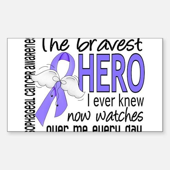 Bravest Hero I Knew Esophageal Cancer Decal