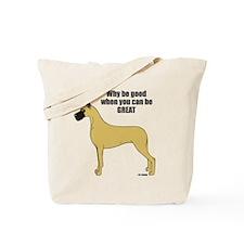 CF Why Be Good Tote Bag