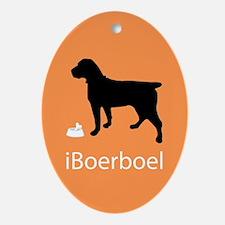 iBoerboel Oval Ornament