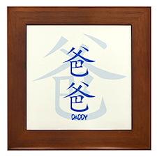 BABA BLUE Framed Tile