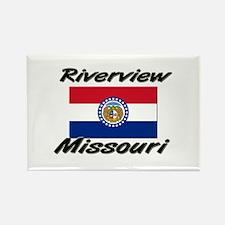 Riverview Missouri Rectangle Magnet