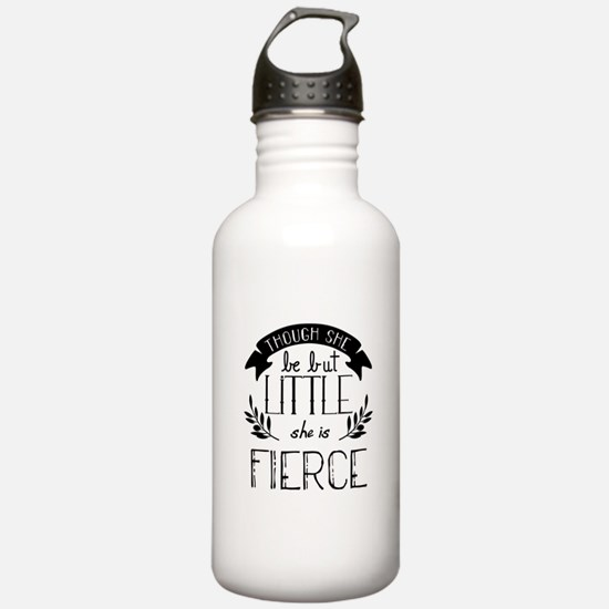 She is Fierce Water Bottle