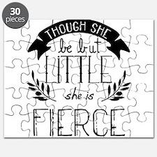 She is Fierce Puzzle