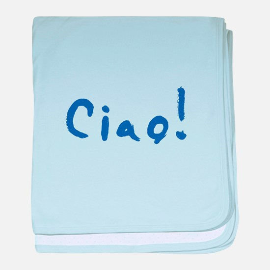 Ciao! baby blanket