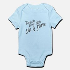 She is Fierce Infant Bodysuit