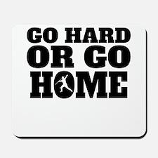 Go Hard Or Go Home Javelin Throw Mousepad