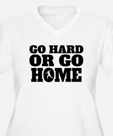 Go Hard Or Go Home Javelin Throw Plus Size T-Shirt