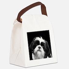 Shih Tzu Dog Canvas Lunch Bag