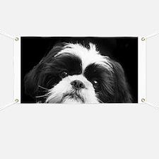 Shih Tzu Dog Banner