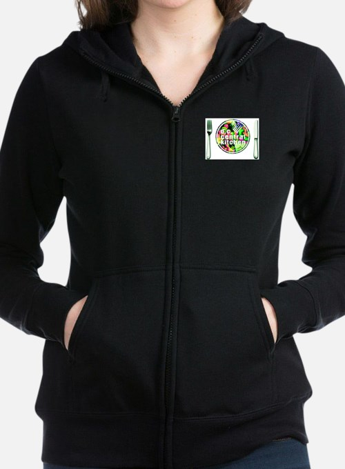 Cute Feed the homeless to the hungry! Women's Zip Hoodie
