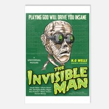 Invisible Man Postcards (Package of 8)