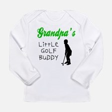 Cute Golfing grandpa Long Sleeve Infant T-Shirt