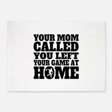You Left Your Game At Home Bowling 5'x7'Area Rug