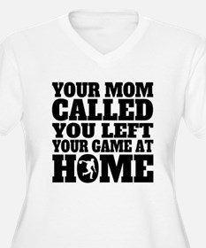 You Left Your Game At Home Bowling Plus Size T-Shi