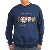 Kiniart dogs Sweatshirt (dark)