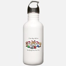 Christmas Pommies Water Bottle