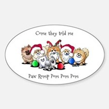 Christmas Pommies Decal