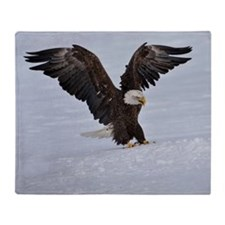 The Eagle has landed Throw Blanket