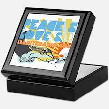 Throwback Peace & Love Keepsake Box