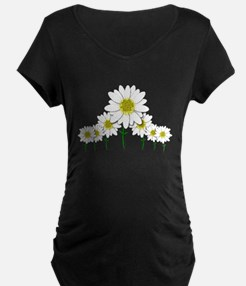 Bunch of Daisies Pattern Design Decor Maternity T-