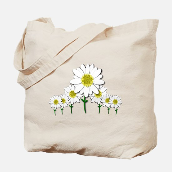Bunch of Daisies Pattern Design Decor Tote Bag