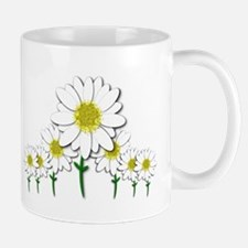 Bunch of Daisies Pattern Design Decor Mugs