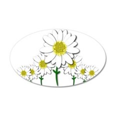 Bunch of Daisies Pattern Design Decor Wall Decal