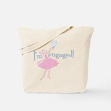 Retro Engaged Tote Bag