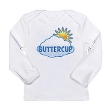 Unique Buttercup Long Sleeve Infant T-Shirt
