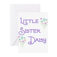 Little Sister Daisy Greeting Cards (Pk of 10)