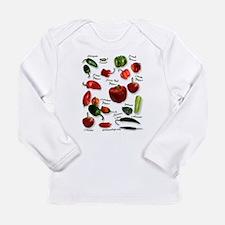 Unique Chili pepper Long Sleeve Infant T-Shirt