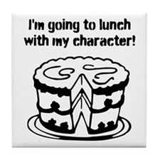Going To Lunch With My Character - cake Tile Coast