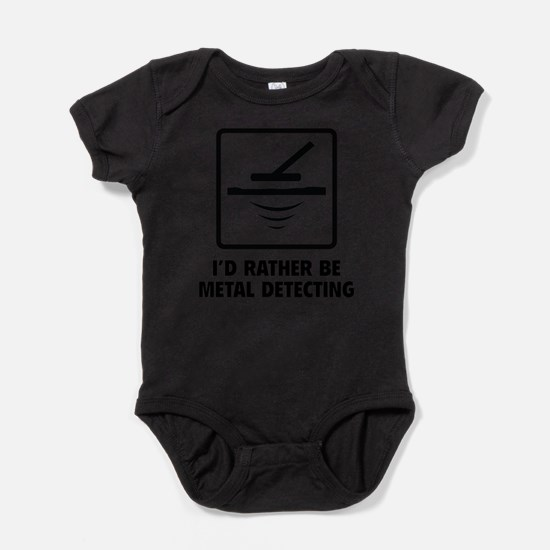 Cute I would rather Baby Bodysuit