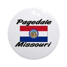 Pagedale Missouri Ornament (Round)