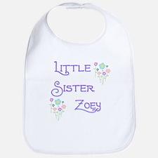 Little Sister Zoey Bib