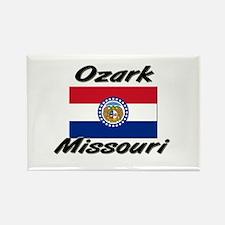 Ozark Missouri Rectangle Magnet
