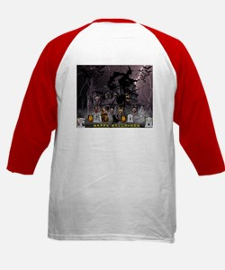 Witches Haunted House Baseball Jersey