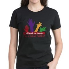 Cute Social workers change futures Tee