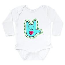 Unique Deafness Long Sleeve Infant Bodysuit