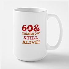 60th Birthday Gag Gift Mug