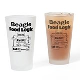 Beagle Pint Glasses