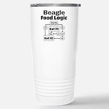 Beagle Food Stainless Steel Travel Mug